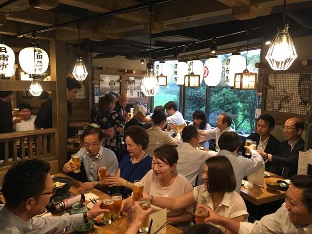 7/4関東ブロック勉強会懇親会風景