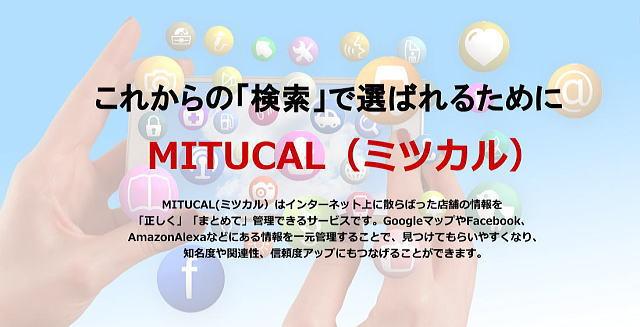 ローカル検索や音声検索に備えるMITUCAL